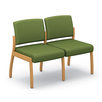 Axxess 980-2 two armless chairs ganged