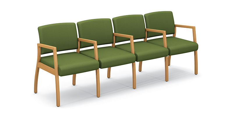 Axxess 984-4 four armchairs ganged