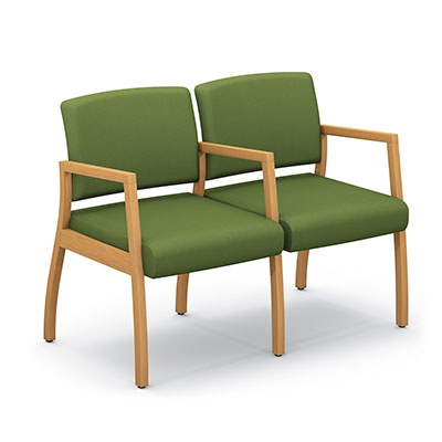Axxess 984-2 two armchairs ganged